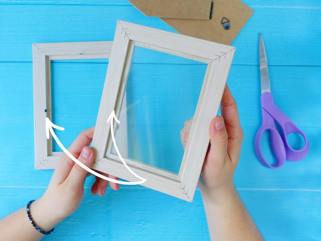 Podświetlana ramka DIY