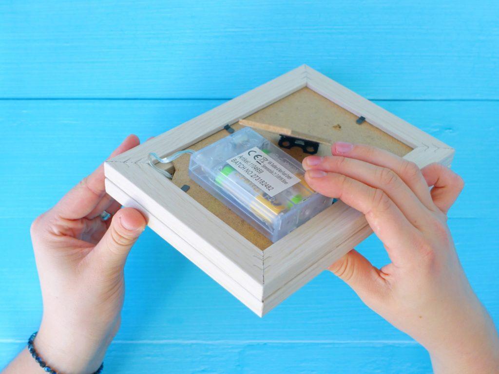 Podświetlana ramka - włącznik