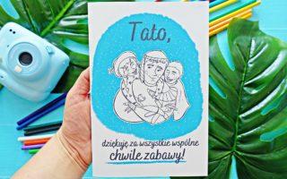 Kartka na Dzień Ojca do druku